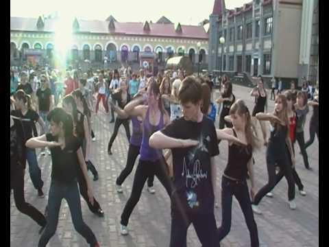Флешмоб имени Майкла Джексона Michael Jackson FlashMob uFa