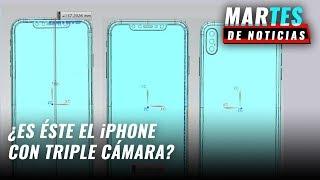 Así es el iPhone con triple cámara - #MartesDeNoticias