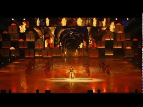 Видео, Ледовое шоу Аладдин и Повелитель огня