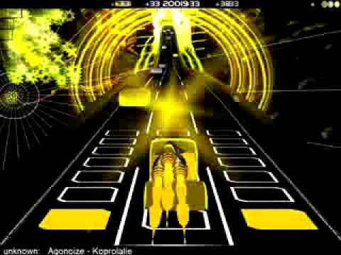 Audiosurf Agonoize - Koprolalie