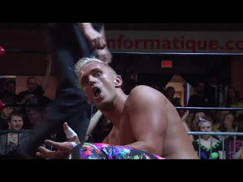 NSPW TV Championship Dylan Bostic VS Matt Angel