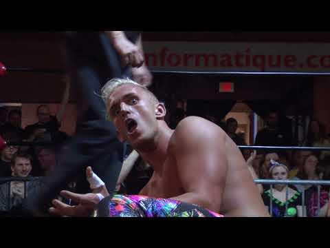 NSPW TV Championship Dylan Bostic VS Matt Angel