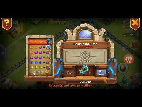 Thunder God Gift 6-13-19 Castle Clash