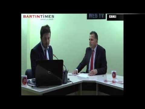 KUMLUCA BELEDİYE BAŞKAN ADAYI İSMAİL CAN BARTIN TİMES WEB TV'YE KONUŞTU (12.03.2014) 2.Bölüm