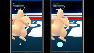Dragon Claw(Dragonite) of no motion is really fast?!【Pokemon go】
