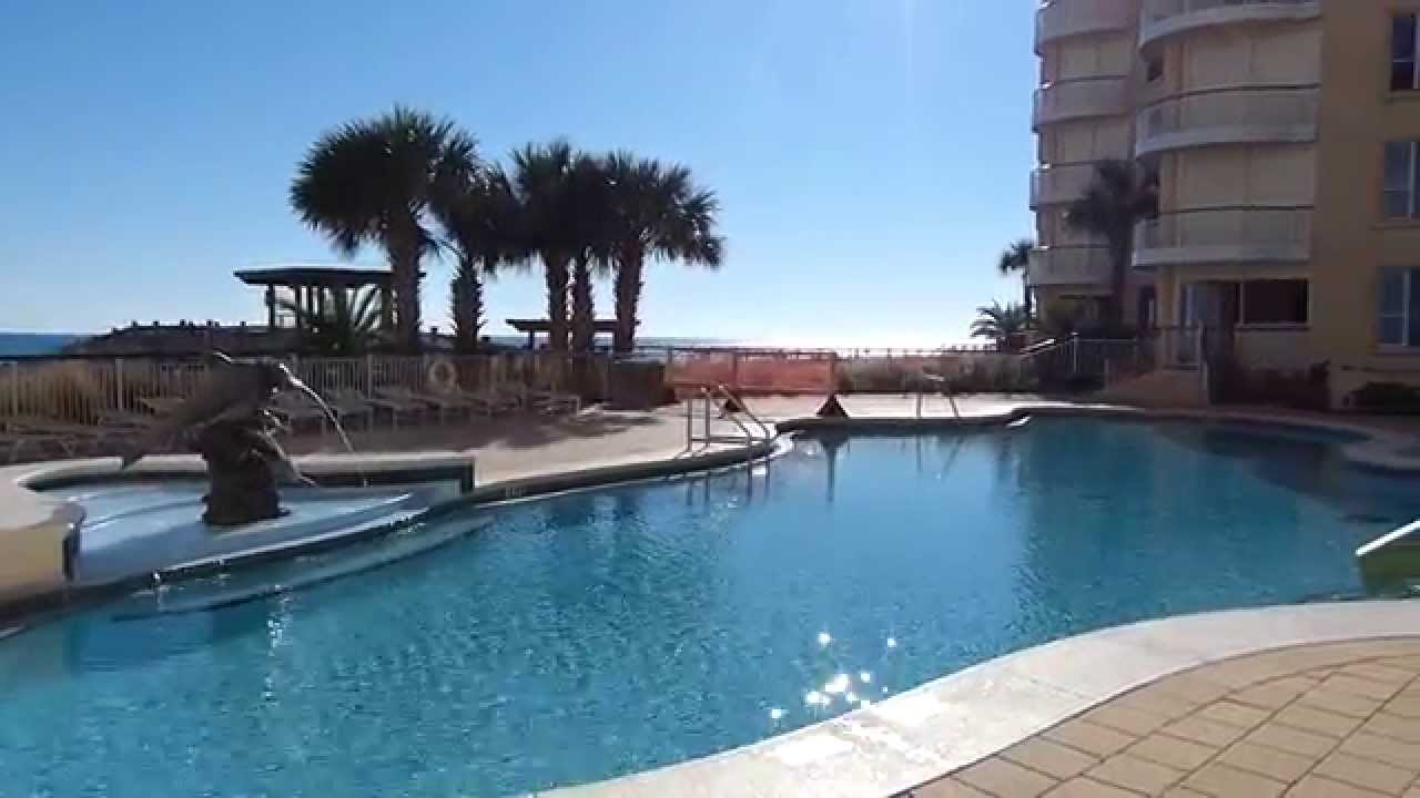 Beach Colony Resort Perdido Key Fl View Of West Pool And Deck