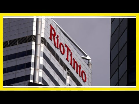 Sec alleges rio tinto misled investors over value of coal assets