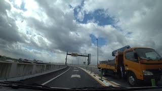 阪神高速8号京都線:山科入口 → 第二京阪道路【HD車載動画】