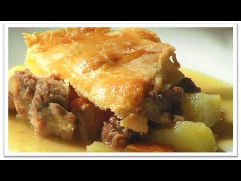 Homemade meat potato pie recipe