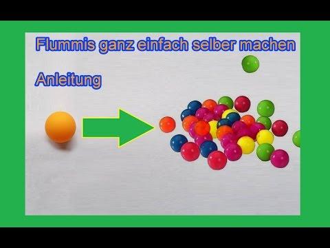 Flummi aus Tischtennisball selbst machen – DIY Silikon Flummis selber bauen  – Gummiball Anleitung