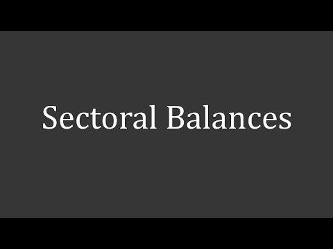 Flow of Money - Sectoral Balances