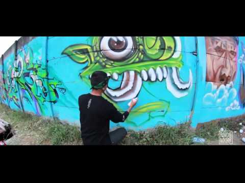 Kombet Kombat (Graffiti Battle) 2015