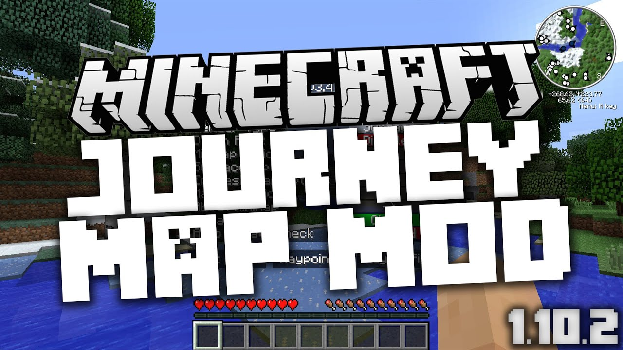 Minecraft Descargar E Instalar Journey Map Mod YouTube - Journey map para minecraft 1 10 2