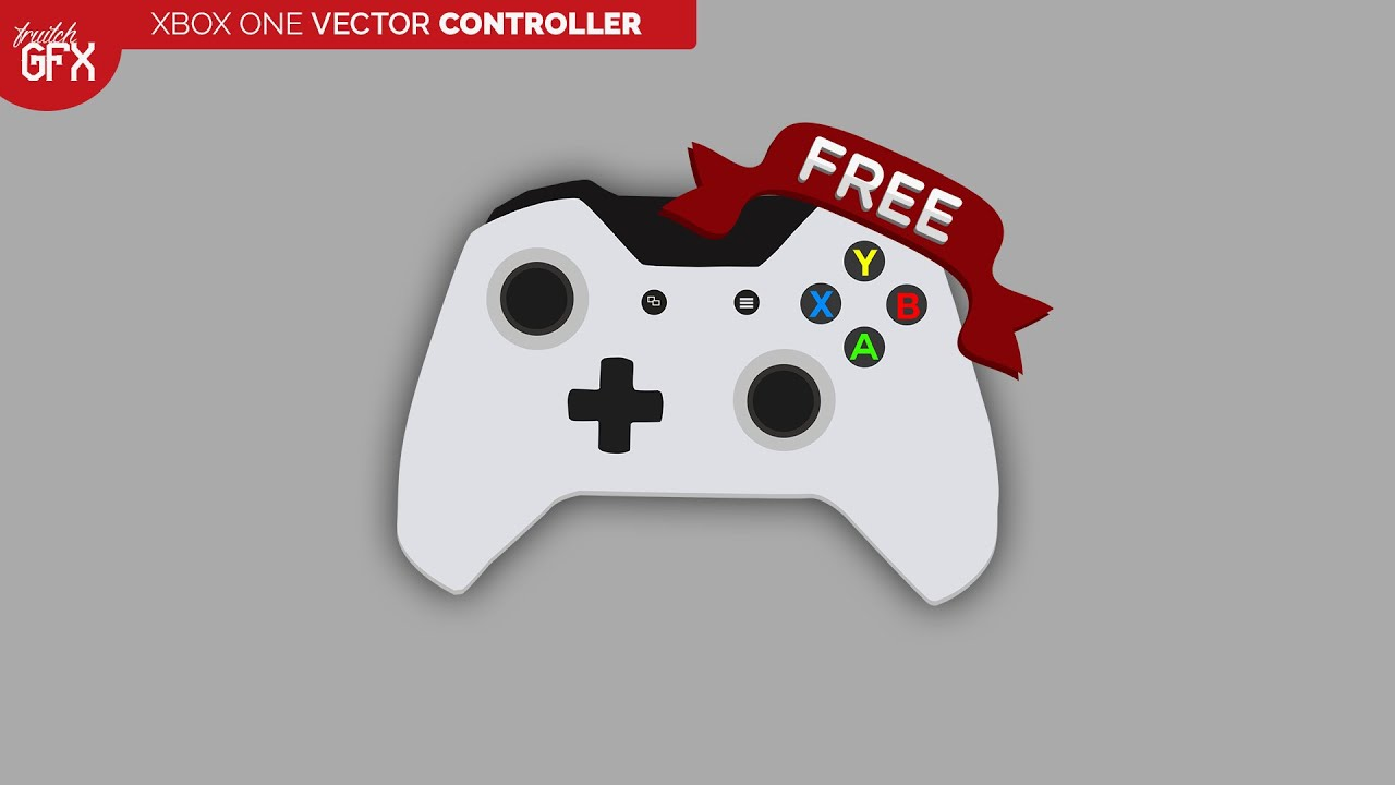 Xbox One 2D Vector Controller - YouTube Xbox One Vector