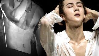 sehun — lips down my body