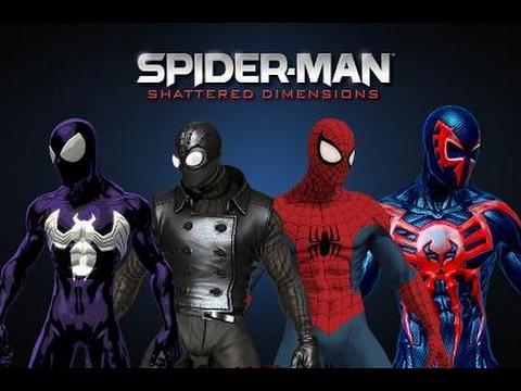 تحميل لعبة spider man shattered dimensions برابط واحد