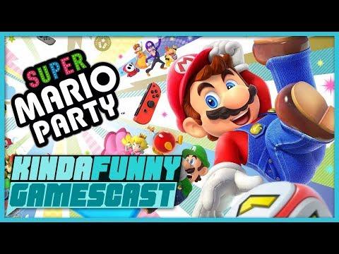 Super Mario Party and Google Project Stream Impressions - Kinda Funny Gamescast Ep. 191
