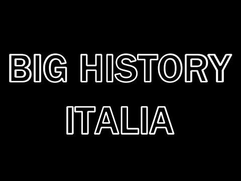Big History Italia - La Grande Storia del nostro Universo
