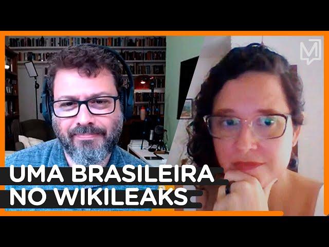 Conversas: Natalia Viana conta como foi trabalhar para o Wikileaks e Julian Assange