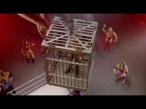 WWE NXT Crash Cage by Mattel