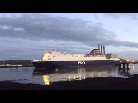 European Highlander Departing Larne