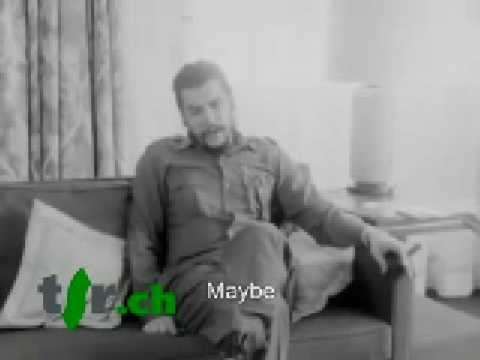 French interview of Che, with subtitles, part 1