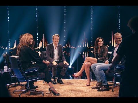 Skavlan with Tyra Banks, Erik Asla, Salman Rushdie, Fredrik Eklund, and Hope Solo.
