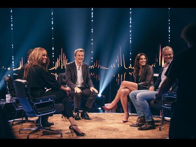Skavlan with Tyra Banks, Erik Asla, Salman Rushdie, Fredrik Eklund, and Hope Solo | SVT/NRK/Skavlan