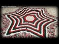 How To Crochet A Christmas Tree Skirt | Victorian Christmas | Bag O Day Crochet Tutorial #622