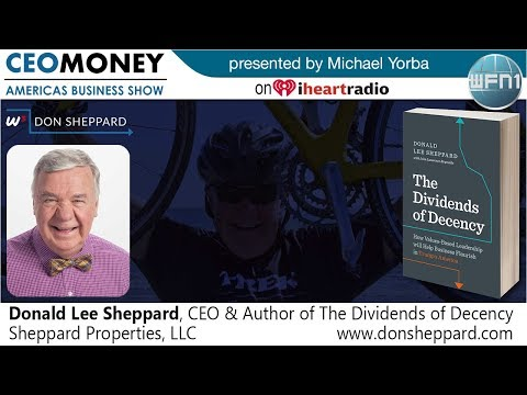 Donald Lee Sheppard on CEO Money