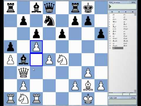 Istanbul Chess Olympiad 2012 Rd 10: Anish Giri vs. Levon Aronian - the bishop pair in action!