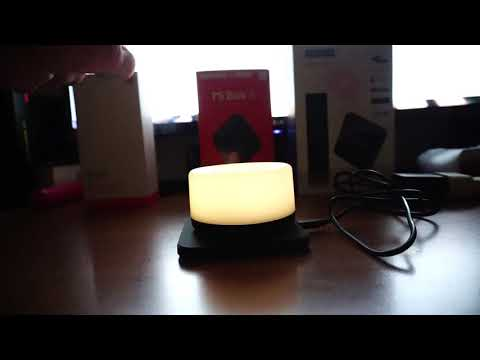 Choetech Dimmable LED Nightlight Demo usage