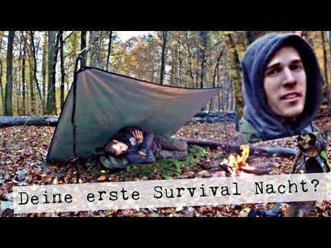 Survival Training für Anfänger / deine erste Nacht in der Wildnis Tipps und Tricks