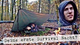 Survival Training für Anfänger, deine erste Nacht in der Wildnis, Survival Bushcraft Tipps Tricks
