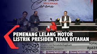 Heboh Isu Penangkapan, Pemenang Lelang Motor Jokowi Tidak Ditahan