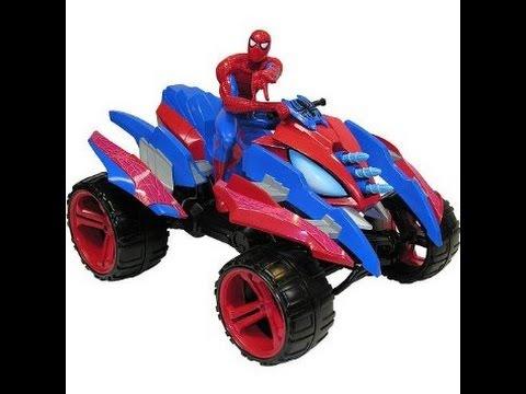 Jouet spiderman quad spiderman figurines jouets pour les enfants youtube - Quad spiderman ...