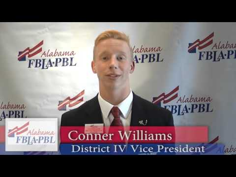 District 4 Vice President - Conner Williams