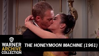 The Honeymoon Machine (1961) – A Kiss