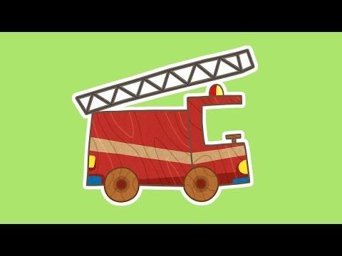 Сериал для мальчиков МАШИНКИ. Пожарная машина