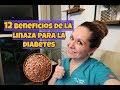 12 Beneficios De La  Linaza Para La Diabetes. Dra. Tejeida Melissa