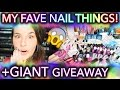 My FAVE nail things + GIANT GIVEAWAY + THANK YOU FOR 1M HOLOSEXUALS ON INSTAGRAM!!