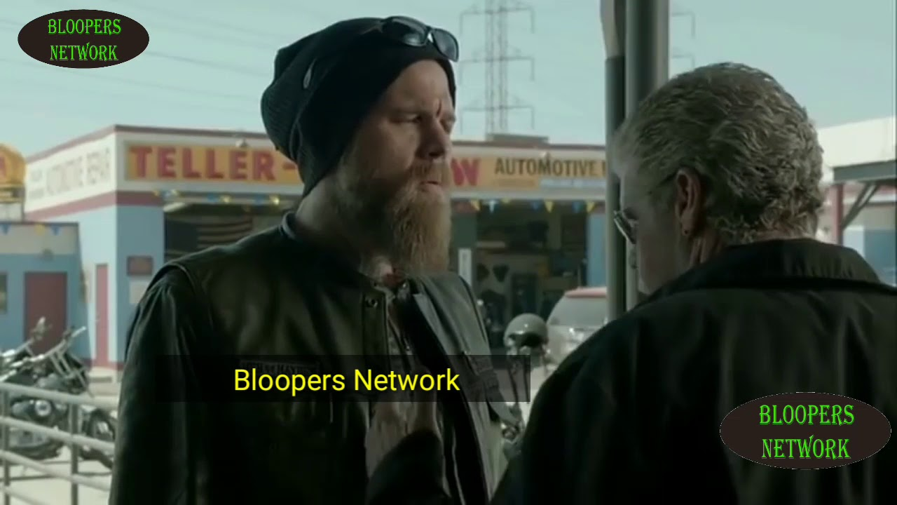 Sons Anarchy Bloopers