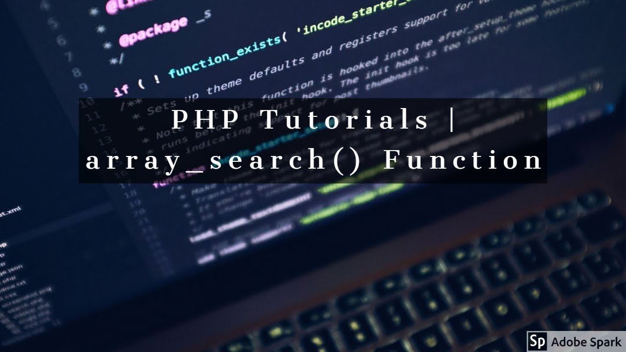 PHP Tutorial - array_search() Function