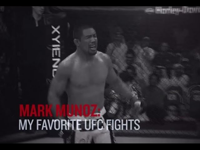 Fight Night Manila Mark Munoz Top 3 Ufc Fights Youtube