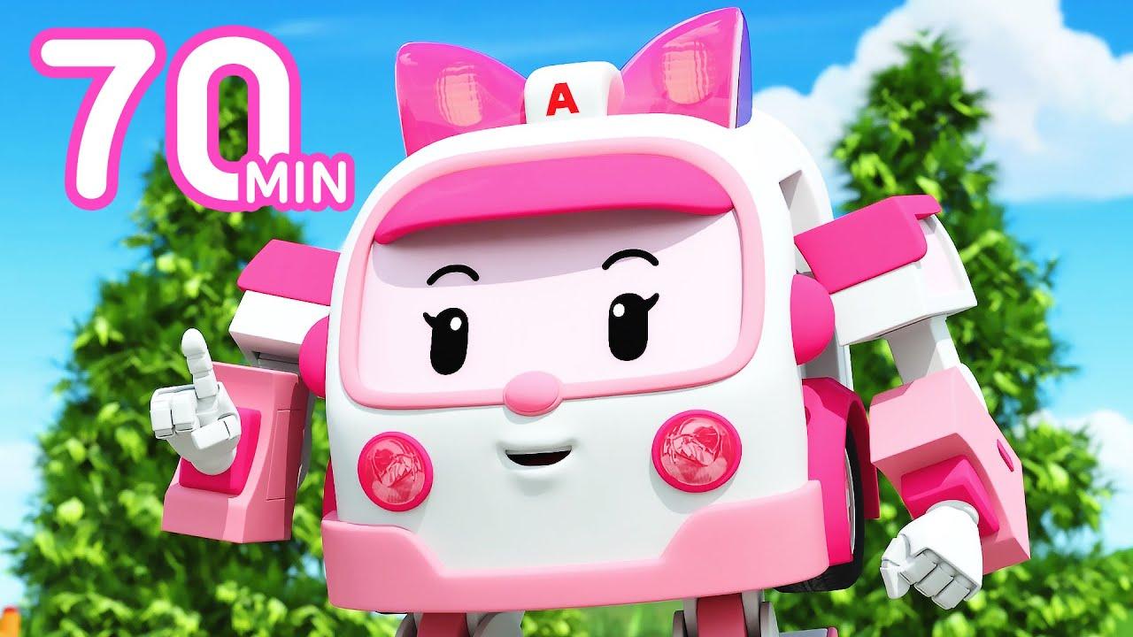 Download Robocar POLI Family Episodes Compilation | + Popular Kids Songs |Cartoon for Kids | Robocar POLI TV