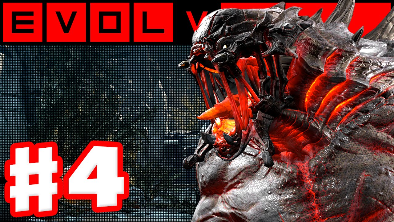 Evolve - Gameplay Walkthrough Part 4 - Goliath Evacuation! (Evolve