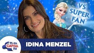 Idina Menzel Takes On 'Frozen' Super Fan In A Quiz ❄️ | FULL INTERVIEW | Capital