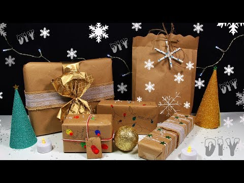 How To Wrap Christmas Gifts - Wrapping Paper