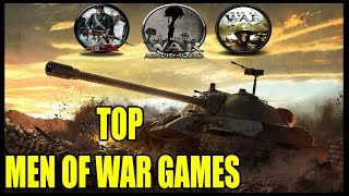 Top 5 Men of War Games