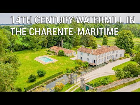 Gorgeous 14th-century watermill in Charente-Maritime - Ref.: 101201JHI17